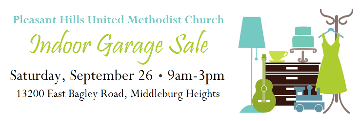 Indoor Garage Sale: September 26